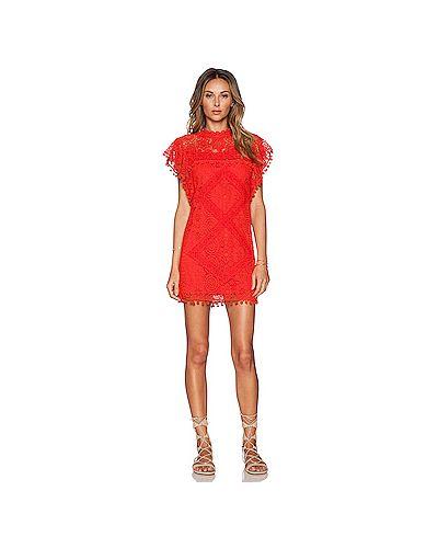 Платье на пуговицах с помпоном Tularosa