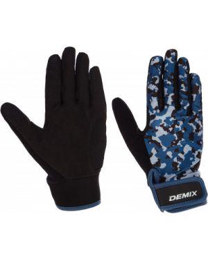 Перчатки для фитнеса спортивные нейлоновые Demix