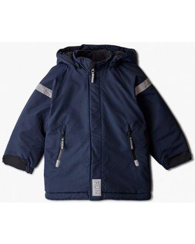 Теплая синяя куртка Sela