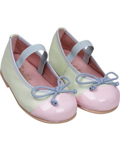 Зеленые туфли Pretty Ballerinas