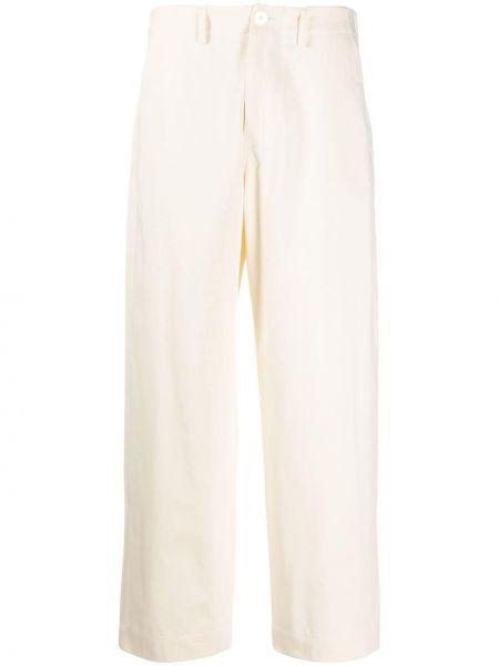Укороченные брюки с карманами свободного кроя с высокой посадкой на молнии Sofie D'hoore