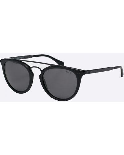 Солнцезащитные очки круглые металлические Polo Ralph Lauren