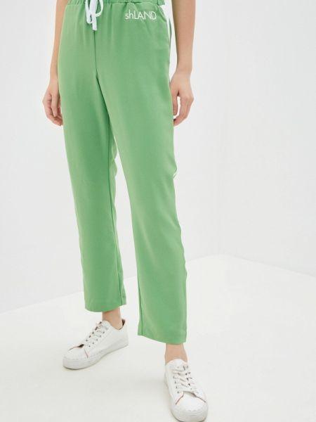 Зеленые брюки Sh