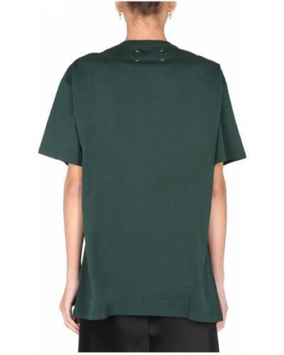 Zielona t-shirt Maison Margiela
