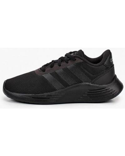 Кожаные черные кроссовки Adidas