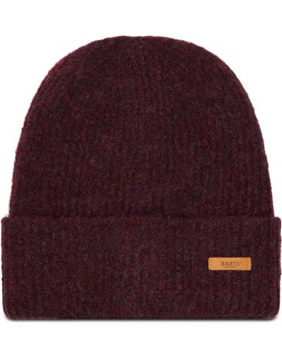 Fioletowa czapka z akrylu Barts