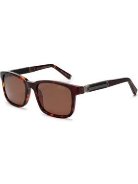 Солнцезащитные очки свободного кроя кожаные Zilli