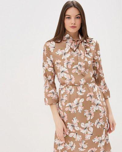 Платье - коричневое Miss Miss By Valentina