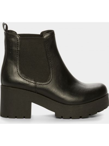 Ботинки на каблуке - черные M Wone