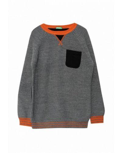 Серый свитер United Colors Of Benetton