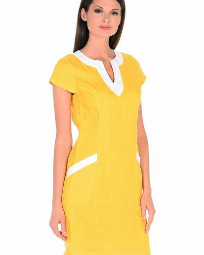 Повседневное желтое платье Gabriela