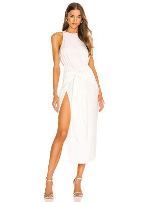 Sukienka kopertowa - biała Atoir
