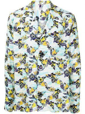 Koszula z długimi rękawami z printem Sulvam