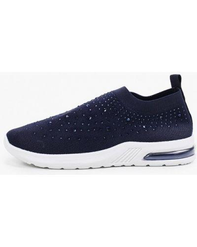 Текстильные синие кроссовки Sergio Todzi