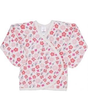 Хлопковые розовые ползунки с запахом Sofiya