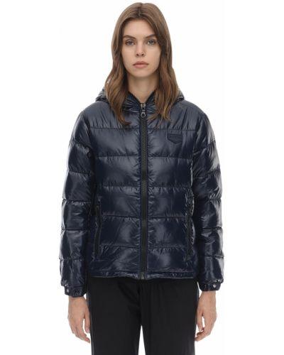 Пуховая куртка с капюшоном с манжетами Duvetica