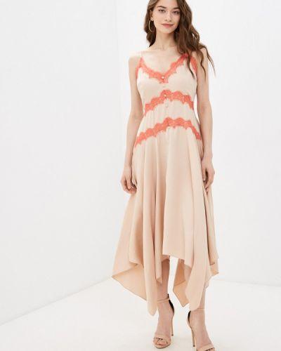 Бежевое платье Little Mistress