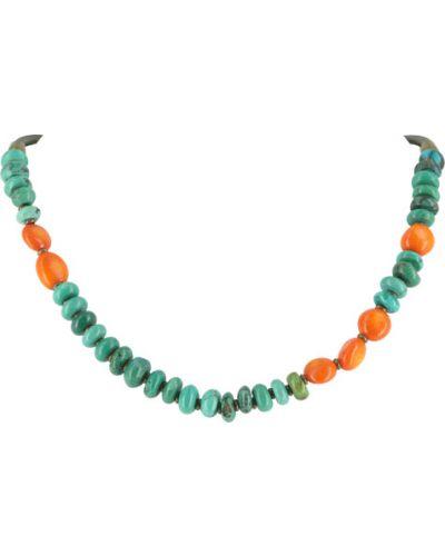 Ожерелье с камнями - черное Nature Bijoux
