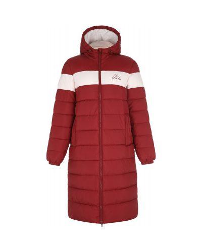 Куртка с капюшоном - красная Kappa
