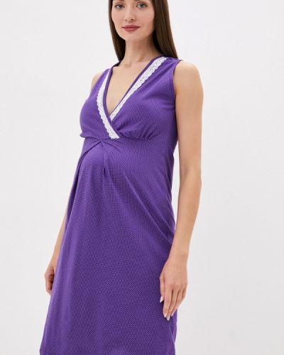Ночнушка - фиолетовая фэст