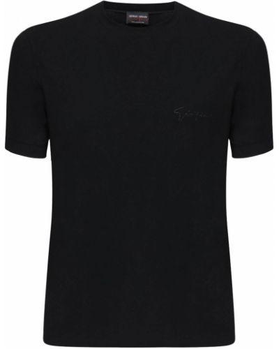 Трикотажная рубашка стрейч Giorgio Armani