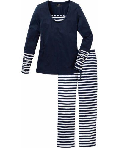 Пижама в полоску Bonprix