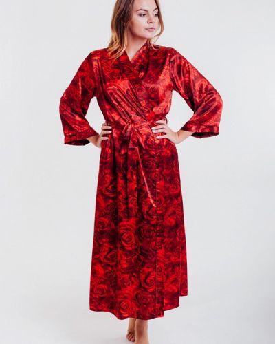 Домашний халат - красный Mia-amore