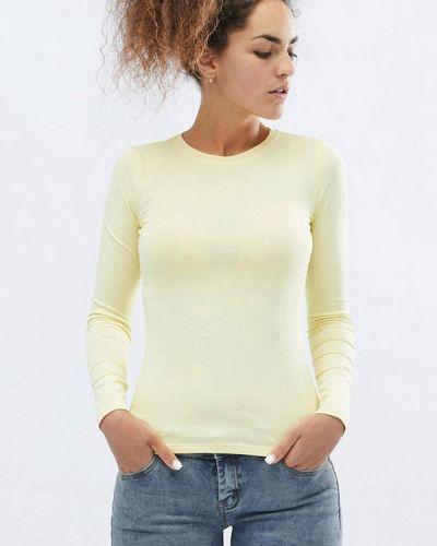Желтая весенняя футболка Carica&x-woyz
