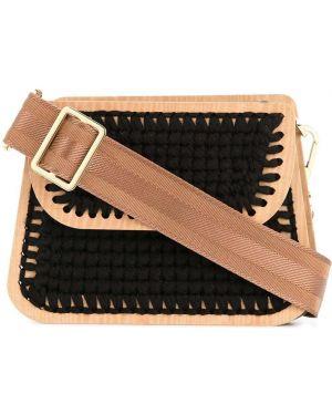 Черная маленькая сумка 0711