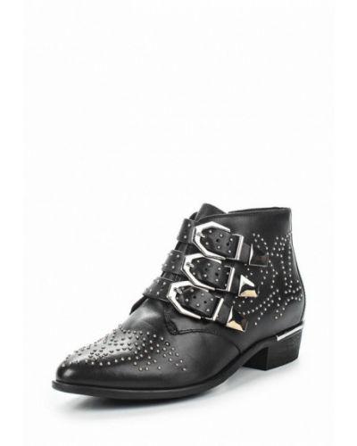 Кожаные ботинки черный Bronx