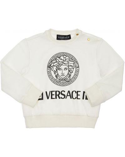 Bluza, biały Versace