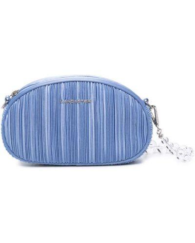 Синяя сумка на молнии Lancaster