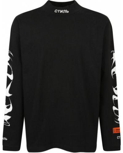 Bluza dresowa - czarna Heron Preston