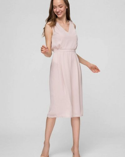 Розовое платье мини Minimally