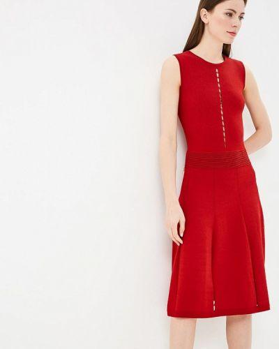 Платье весеннее красный Rodier