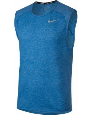 Niebieski top bez rękawów Nike