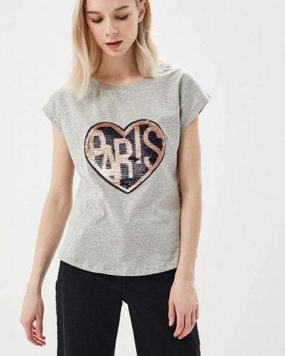 Серая футболка B.style