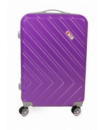 Фиолетовый чемодан Global Case