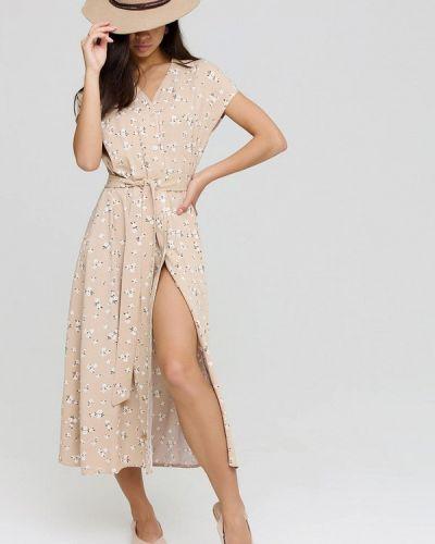 Платье рубашка - бежевое Cardo