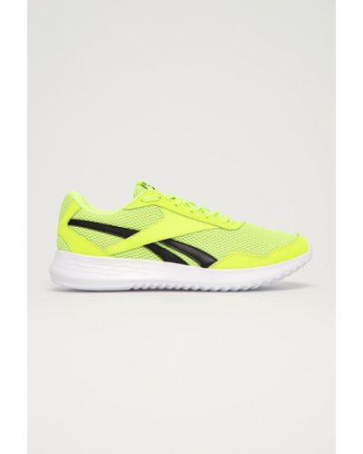 Zielone sneakersy sznurowane Reebok