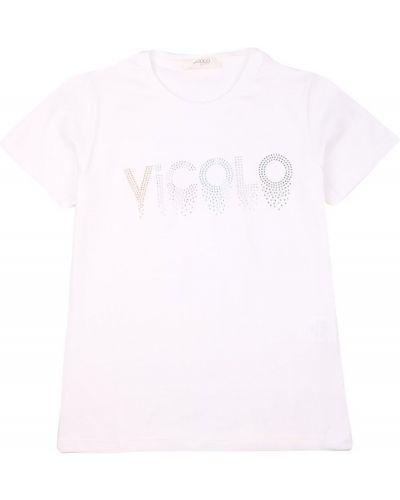 Biała t-shirt Vicolo