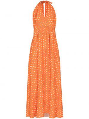 Льняное платье - оранжевое Adriana Degreas