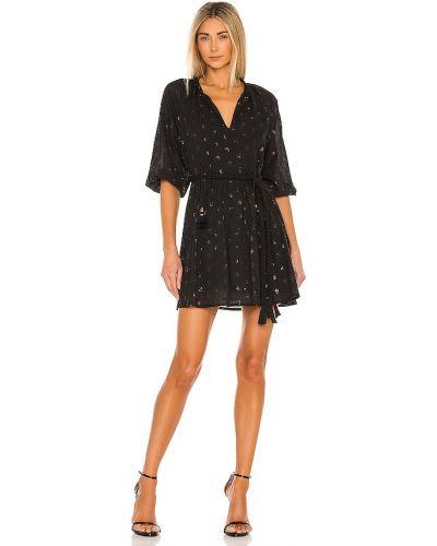 Хлопковое платье мини - черное Karina Grimaldi