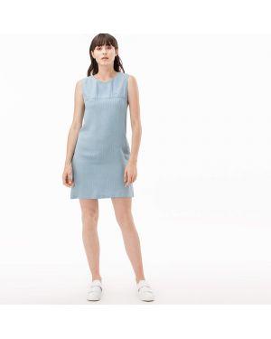 Платье голубой Lacoste