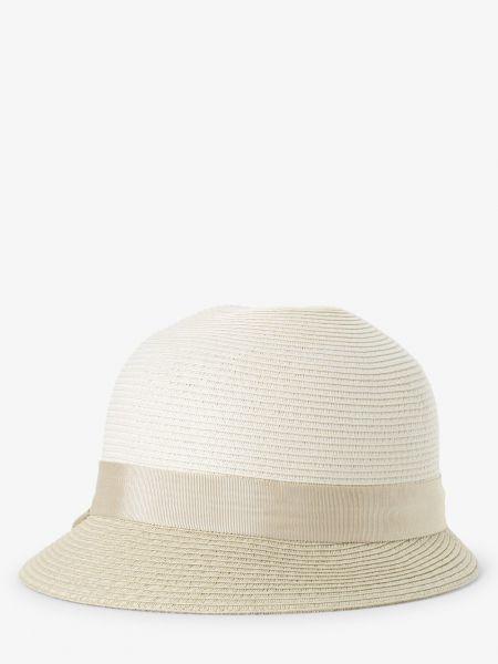 Biały czapka beanie elegancki Loevenich
