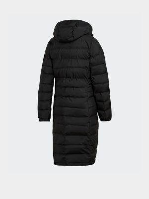 Куртка с капюшоном - черная Adidas