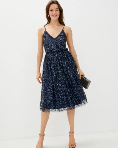 Вечернее синее вечернее платье Little Mistress