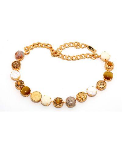 Ожерелье желтый Amaro