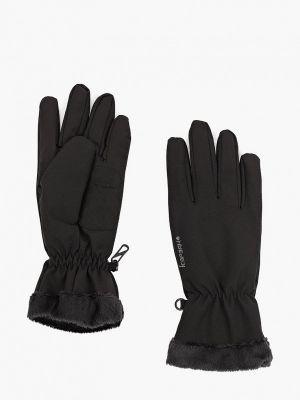 Текстильные перчатки - черные Icepeak