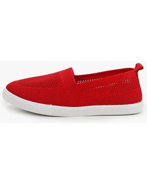 Красные текстильные слипоны T.taccardi
